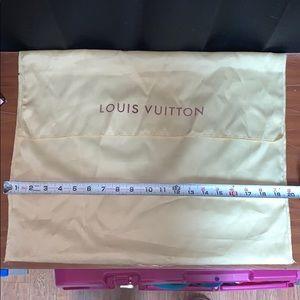 Louise Vuitton dust bag Large vintage